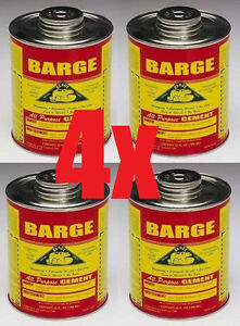4 Quarts 32oz Barge Rubber Contact Cement Glue Adhesive