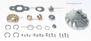 Gmc Chevrolet 6 5 Liter Diesel Turbocharger Rebuild Kit New Compressor Wheel