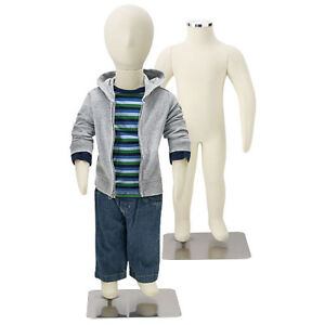New Flexible Children s Mannequin With Removable Head Piece 1 Year Measurement
