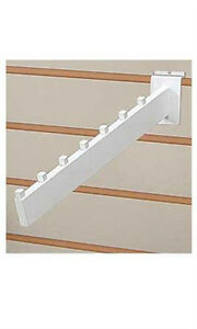 Count Of 10 White Waterfall Slatwall Faceout 7 Cubetube Available In Black