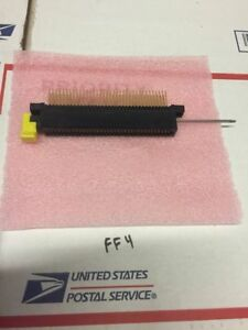 New Amp 2 531414 1 Edge Connector T33534 Rotary Cam Zif Pcb Warranty Fast Ship