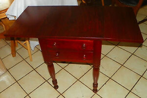 Solid Cherry Dropleaf Work Table T363