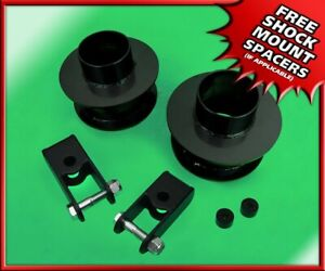 2 Steel Front Leveling Lift Kit W Stock Extenders For 2005 2020 Ford F 350 4x4