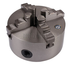 Dia 125mm 4 jaw Self centering Lathe Chuck For Wood 4th Axis Cnc Rotary Table