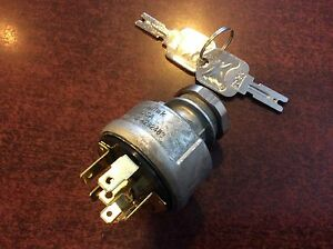 Forklift Ignition Switch Hyster Clark Yale Part 379902 Or Hy379902 Usa Made