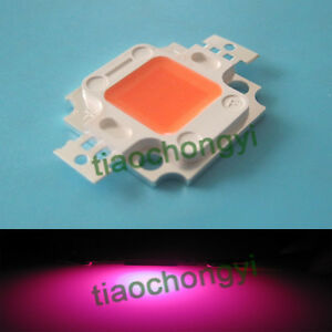 10pcs 10 Watt Full Spectrum Led Chip 380nm 840nm 900ma Plant Grow Lights New