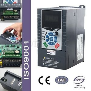 1 5kw Vfd 3phase 400vac Variable Frequency Drive Inverter 3 8a Iso9001