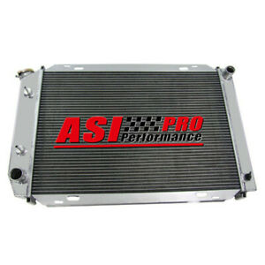 3 Row Aluminum Radiator For 79 93 Ford Mustang Mercury Cougar 80 87 Marquis Pro