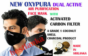 Work Shop Multi Layer Air Purifying Respirator Face Mask Activated Carbon Filter