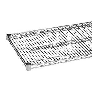 Chrome Wire Shelving 18 X 18 Nsf 2 Shelves Heavy Duty Metro Style