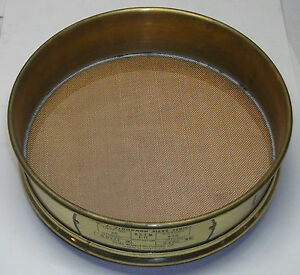 U S Standard Test Sieve Size 30 Dual Mfg Co Brand New In Box