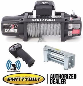 Smittybilt X2o 12 000 Lb Waterproof Winch With Wireless Remote