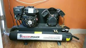 Falcon Industrial Gas Powered Air Compressor
