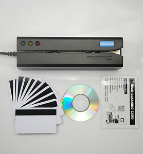 Msr605x Magnetic Swipe Credit Card Reader Writer Encoder Mag Magstripe Msr605