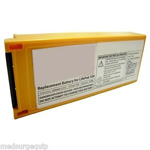 Physio Control Lifepak 500 Battery Replacement 1141 000155
