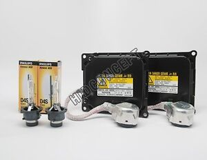 Original Denso Ddlt 003 Hid Xenon Ballasts Philips 4300k Oem D4s 42402 Bulbs