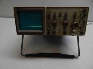 Tektronix 2215 60mhz Scope Works Great No Probes On off Switch Not Working