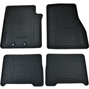 Oem New 15 17 Ford Expedition Front Rear All Weather Floor Mats Fl1z7813086aa
