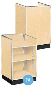 Metal Framed Maple Finished Well Top Register Stand 38 h X 20 d X 24