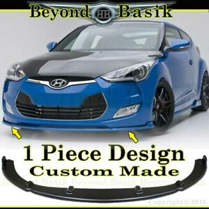 For 2012 2017 Hyundai Veloster No Turbo Sequence Style Front Bumper Lip Body Kit