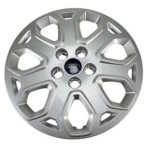 Oem New 2012 2015 Ford Focus 16 Wheel Cover Center Hub Cap Sparkle Silver