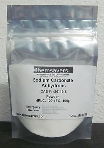 Sodium Carbonate Anhydrous Powder Hplc 100 13 Certified 100g