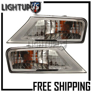2008 2012 Jeep Liberty Left Right Side Pair Fender Mounted Parking Corner Lights