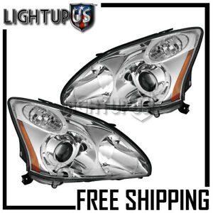 Left Right Pair Hid W o Afs hid Kit Headlights For 2004 2006 Lexus Rx330 Japan