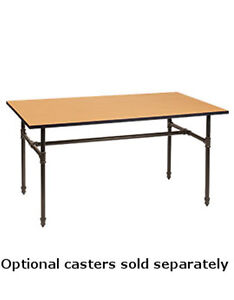 Retails Dark Grey Large Nesting Floor Display Table 32 d X 60 w X 30 h