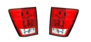 For 2005 2006 Jeep Grand Cherokee Taillights Tail Lamps Driver Passenger Lh rh