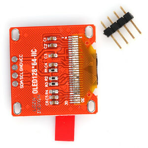0 96 I2c Iic Spi Serial 128x64 White Oled Lcd Led Display Module
