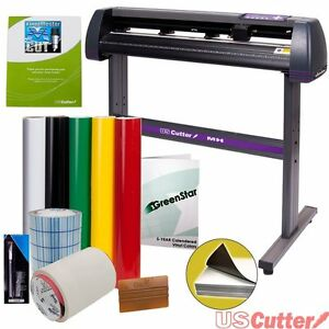 Sign Making Kit Vinyl Cutter W Design Cut Software 34 Inch Supplies Tools