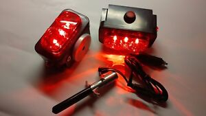 Pair Of Towaide Ta55 Wireless Tow Lights 5 5 Magnetic Tow Truck Wrecker S t t
