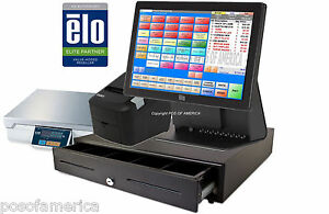 Pcamerica Pos System Rpe Pro All in one Frozen Yogurt Elo 15e2 Complete New
