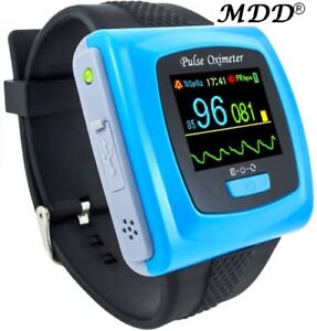 Contec Cms50f Wrist Pulse Oximeter Spo2 Monitor 24h Daily Overnight Sleep Ce Fda