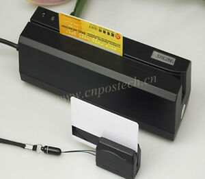 Magnetic Magstripe Credit Card Reader Writer With Portable Collector Encoder