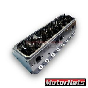 Complete Cnc Ported Aluminum Cylinder Head Small Block Chevy 600lift Sbc Angel