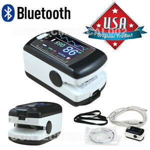 Cms50ew Pulse Oximeter With Bluetooth Spo2 Monitor Oled Usb software Alarm