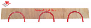 8 pack Radiant Floor Heat Sleeper Return Loop Panels For 1 2 Barrier Pex