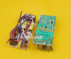 10pcs 50w High Power Driver Supply 85 265 V Constant Current Led Light Chip Lamp