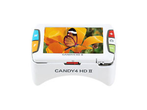 Candy 4 Hd Ii 4 Inch Color Portable Video Magnifier 2 5 Hrs Of Battery Use
