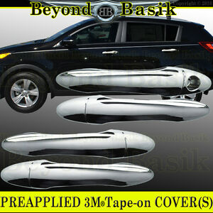Fits 2011 2012 2013 2014 2015 2016 Kia Sportage Chrome Door Handle Covers W O Pk