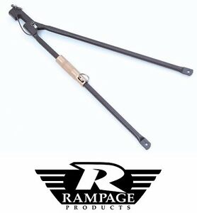 Rampage Adjustable Soft Top Spreader Bar 1987 1995 Jeep Wrangler Yj 89999