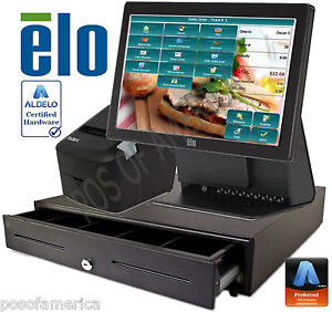 Aldelo 2013 Pro Elo Sandwich Shops Restaurant All in one Complete Pos System New