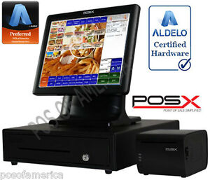 Aldelo pro Pos x Sandwich Shops Restaurant All in one Complete Pos System