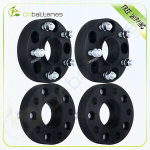 4x 1 5 5lug 5x5 Wheel Spacers Hub Centric Adapters For Jeep Wrangler Jk