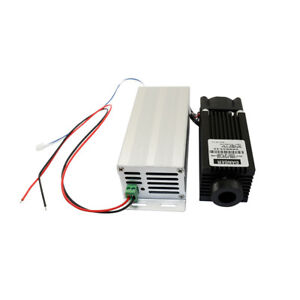 Adjusted Dot Infrared Diode Laser Module 12v 808nm 2400mw 2 4w With Driver Out