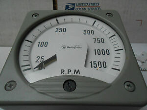Kx 241 Westinghouse Meter 1500rpm 200 Uadc New Old Stock