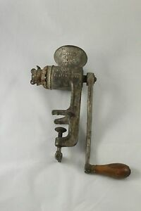 Antique Landers Frary And Clark No 2 Universal Food Chopper With Two Blades