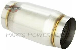 Vibrant 1797 Stainless Steel Race Muffler 4 Inlet Outlet